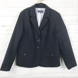 [Jones New York] Black 3 Button Suit Blazer